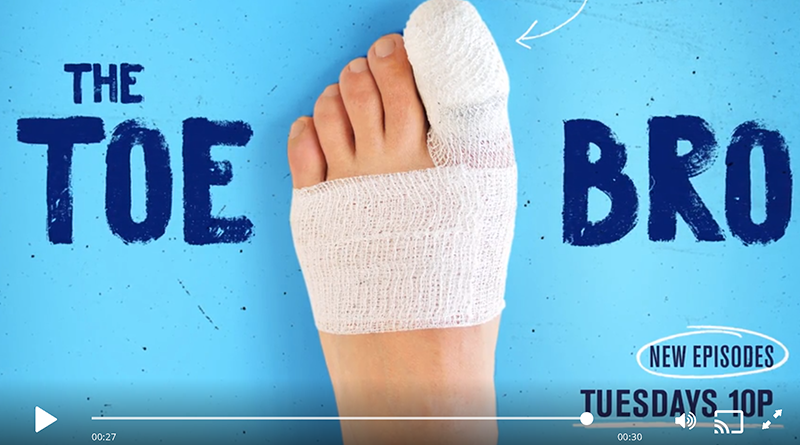 Toe Bro Toezilla TV Episode